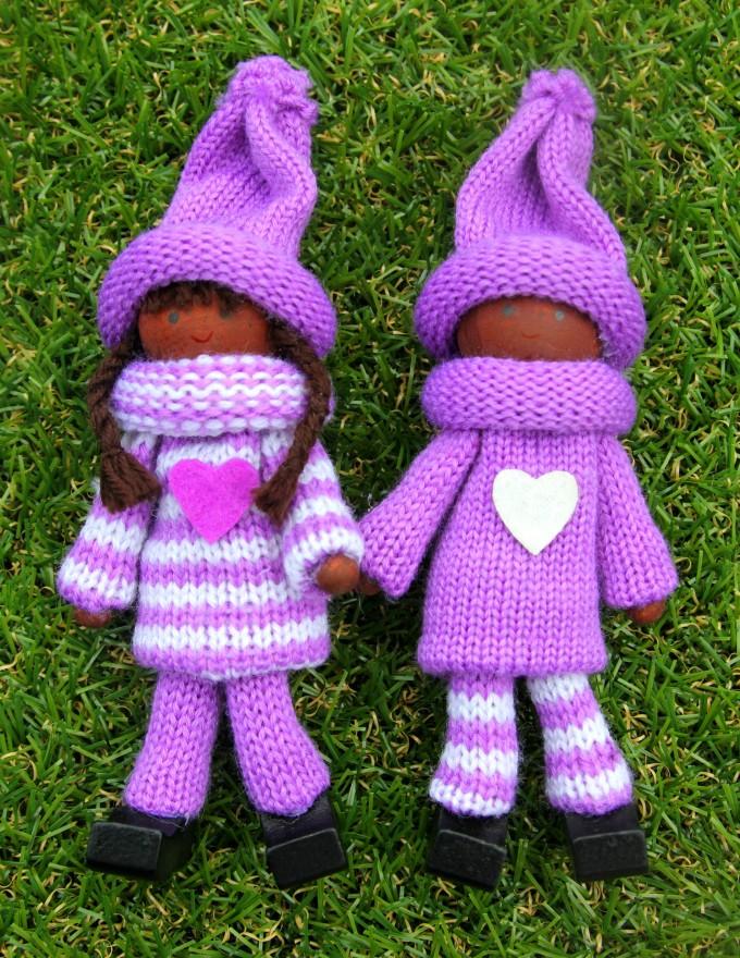 Purple Kindness Elves set