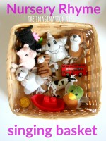 Nursery Rhyme Singing Basket: baby and toddler play