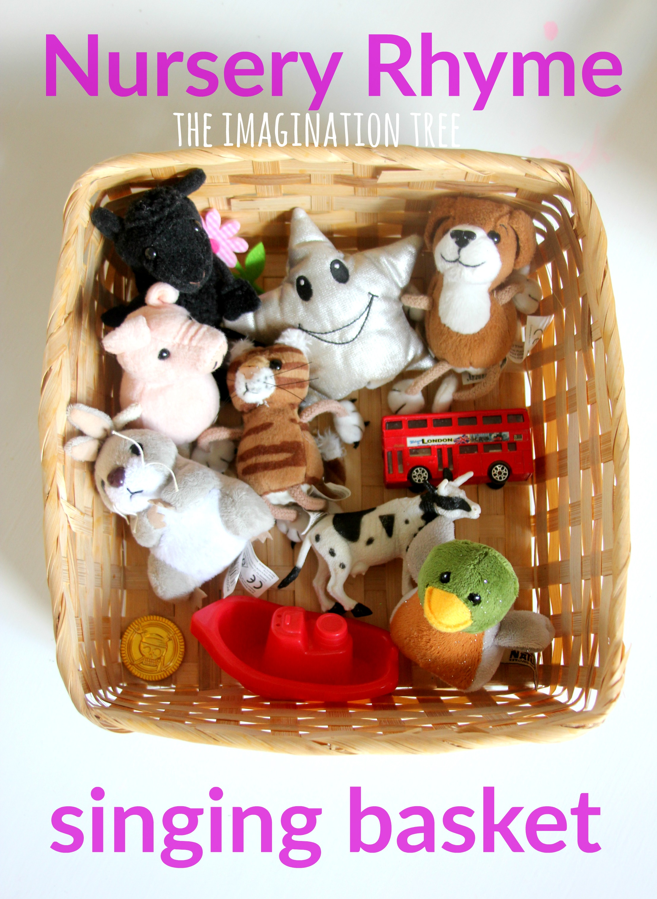 Nursery Rhyme Singing Basket Baby And