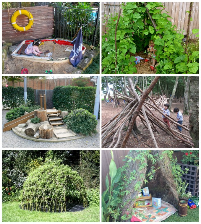 wonderful ideas for outdoor play areas dens and nooks - Garden Ideas Play Area