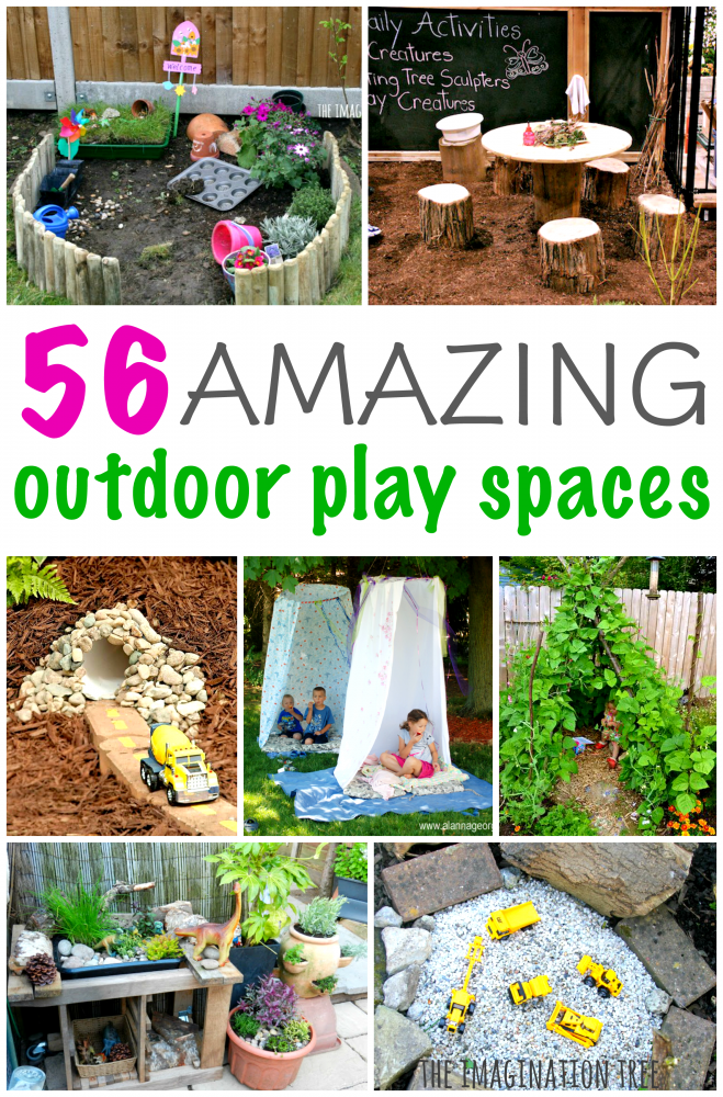 Ideas For Outdoor Spaces Part - 36: Amazing Ideas For Outdoor Play Spaces For Kids!