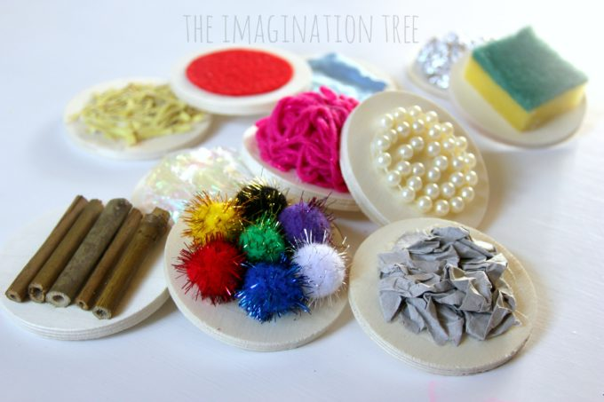 DIY textured sensory mats for babies and toddlers