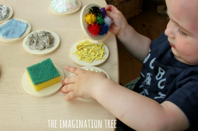 DIY textured sensory mats for babies and toddlers from The Imagination Tree