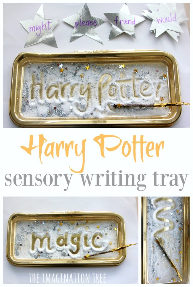 Harry Potter Sensory Writing Tray