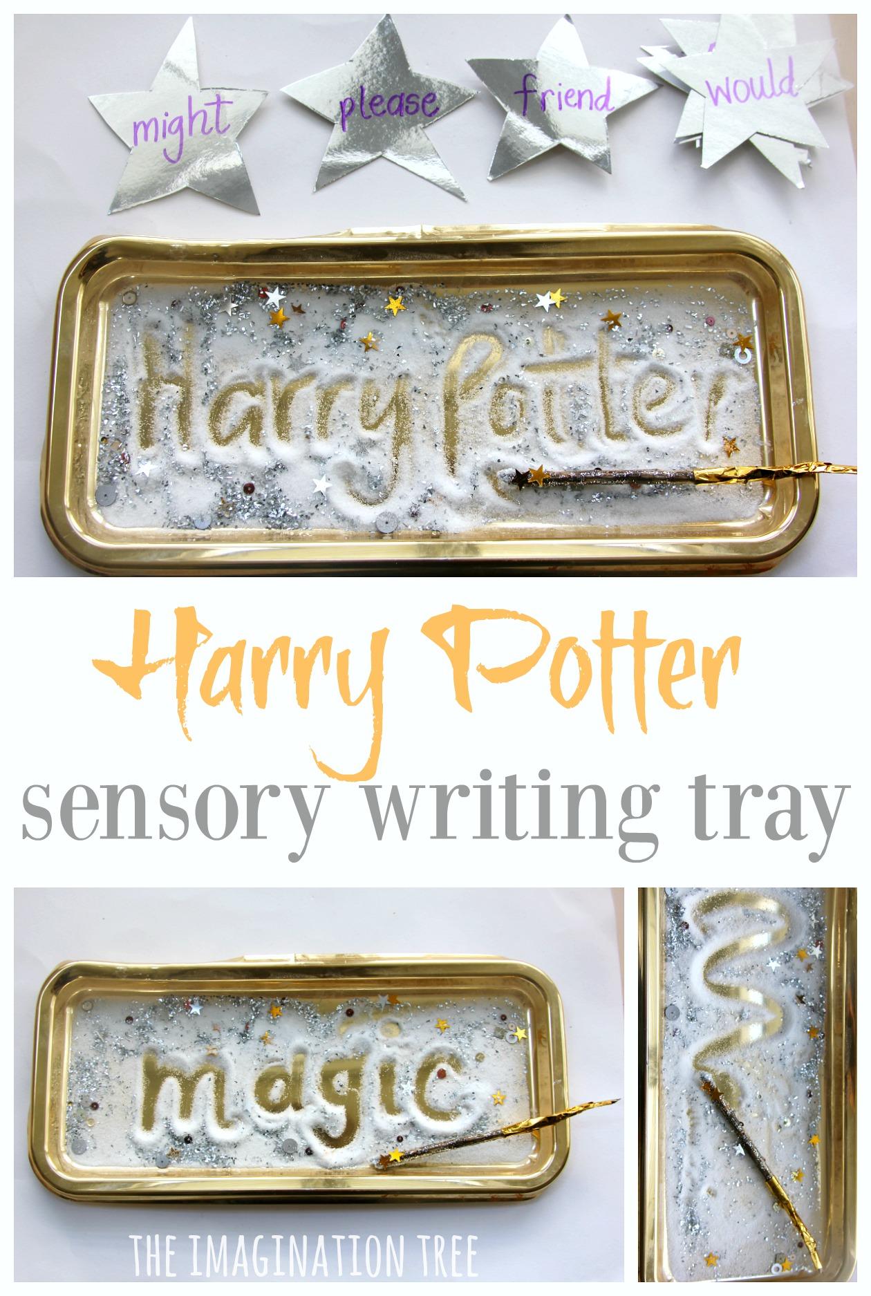 Harry Potter Sensory Writing Tray The Imagination Tree
