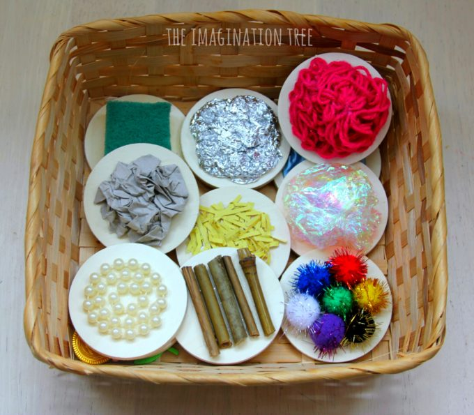 Make your own textured sensory mats for babies and toddlers to explore!