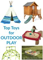 Top Toys for the Outdoor Play Area