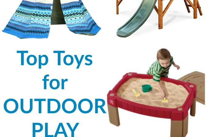 Top toys for outdoor play as recommended by The Imagination Tree