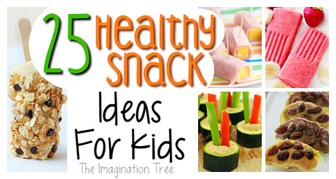 25 totally delicious healthy snacks for kids!
