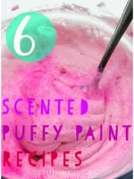 Scented Puffy Paint Recipes