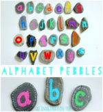 DIY Alphabet Pebbles for Literacy Play
