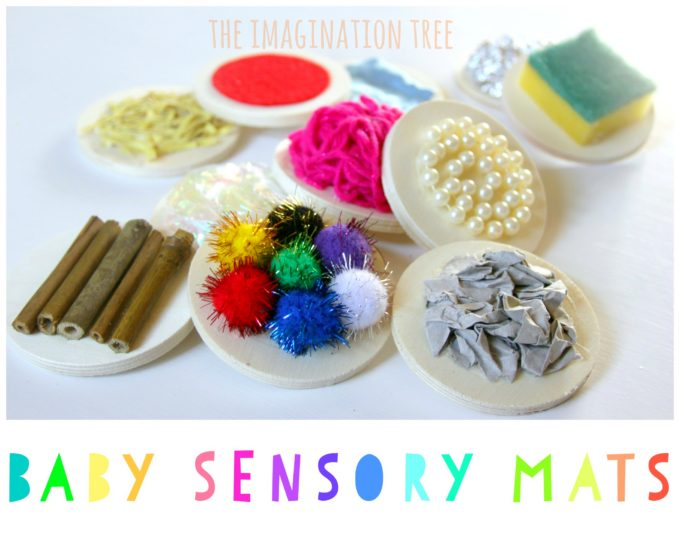DIY Sensory Mats for Babies and Toddlers