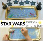 Star Wars Sensory Writing Tray