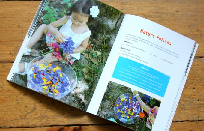 Wonderful nature play activity book by Asia Citro