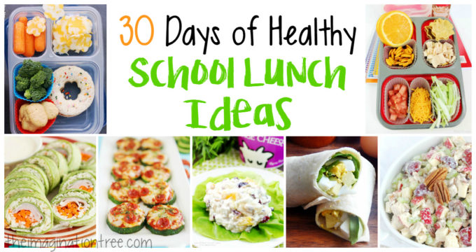 30 Healthy Lunch Box Ideas: One for Each Day of the Month!