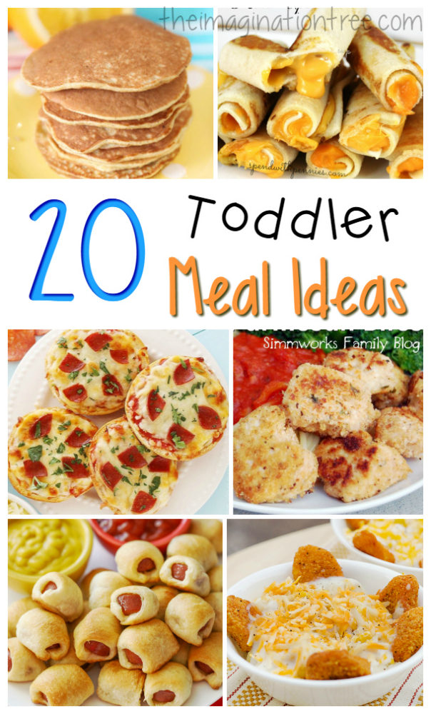 Great Toddler Meal Ideas The Imagination Tree