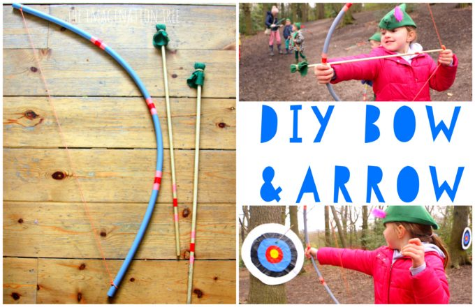 DIY Bow and Arrow for Kids!
