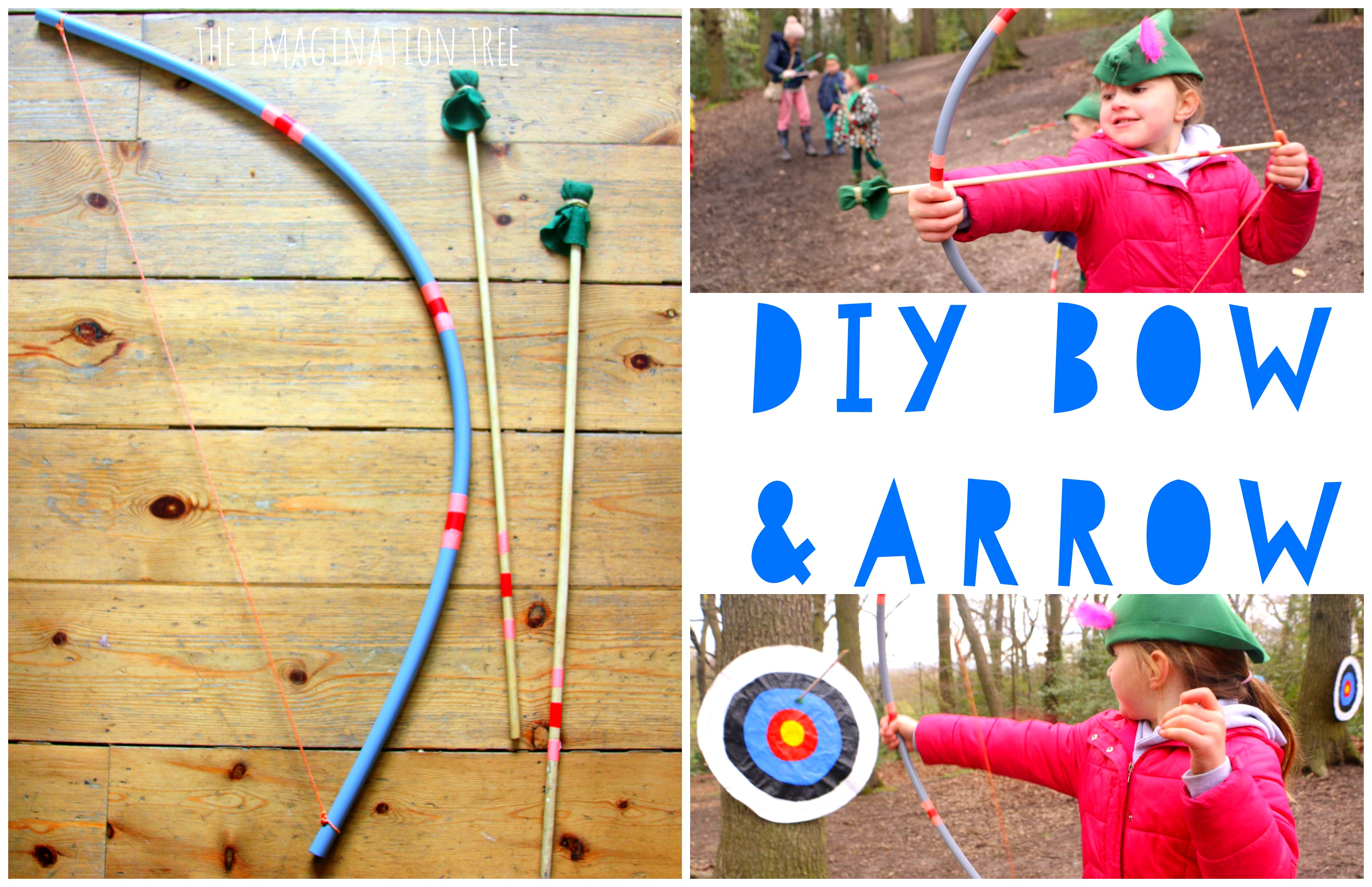DIY Bow and Arrow for Kids! - The
