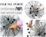 Spider Web Fine Motor Game