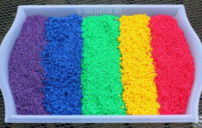 how-to-make-the-easiest-ever-dyed-rice-for-sensory-play