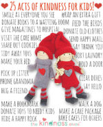 Simple Acts of Kindness for Kids to do!