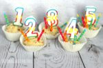 Birthday Cake Play Dough Counting