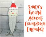 Santa's Beard Advent Countdown Calendar