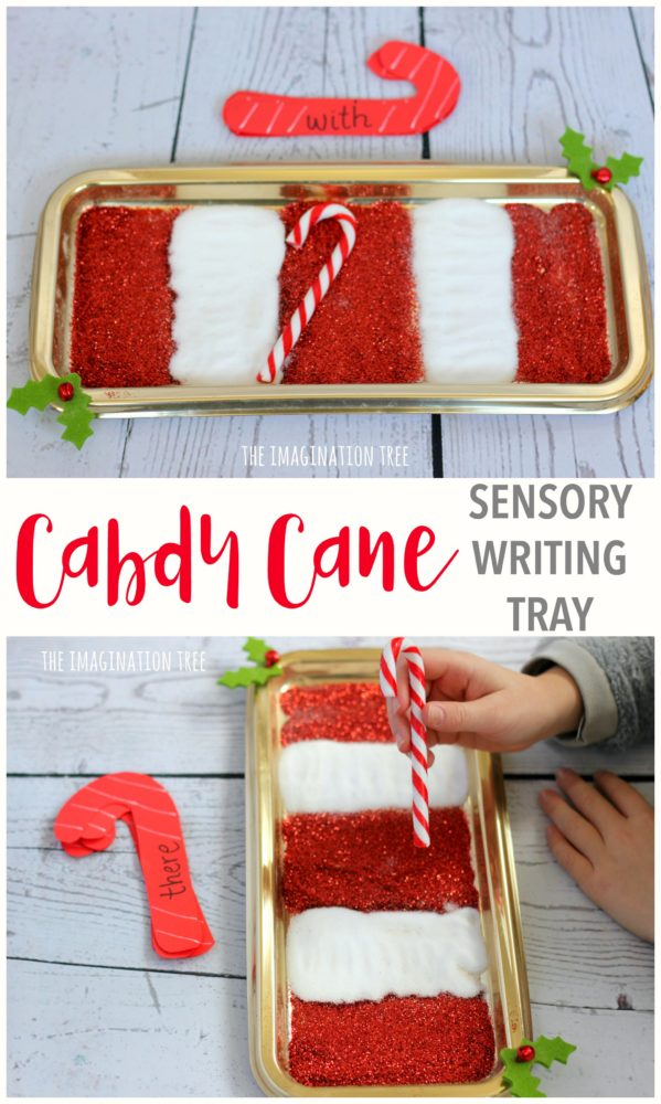 candy-cane-sensory-writing-tray-for-sight-words-and-letters