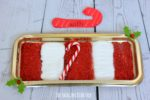 Candy Cane Sensory Writing Tray