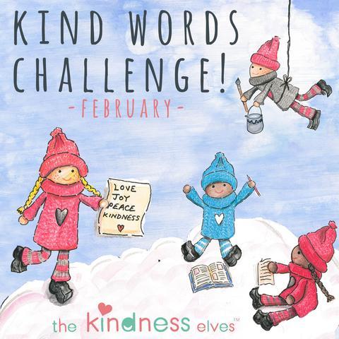 Kind Words Challenge with The Kindness Elves!