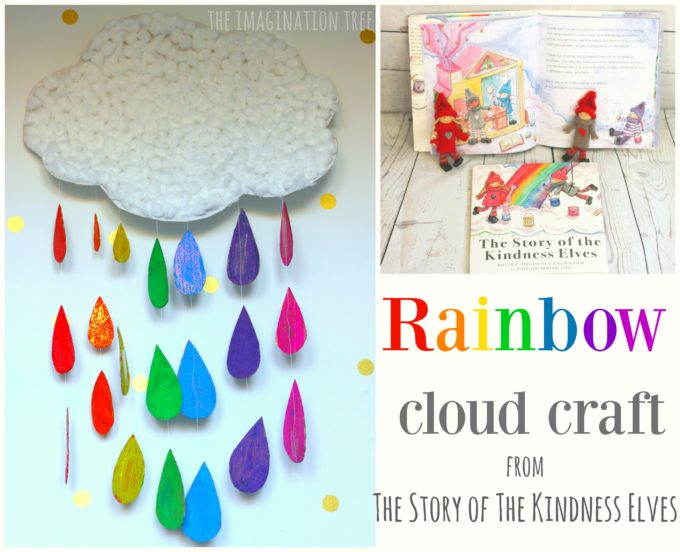 Rainbow Cloud Craft The Story Of The Kindness Elves Book The
