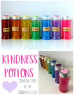 Kindness Potions Sensory Bottles