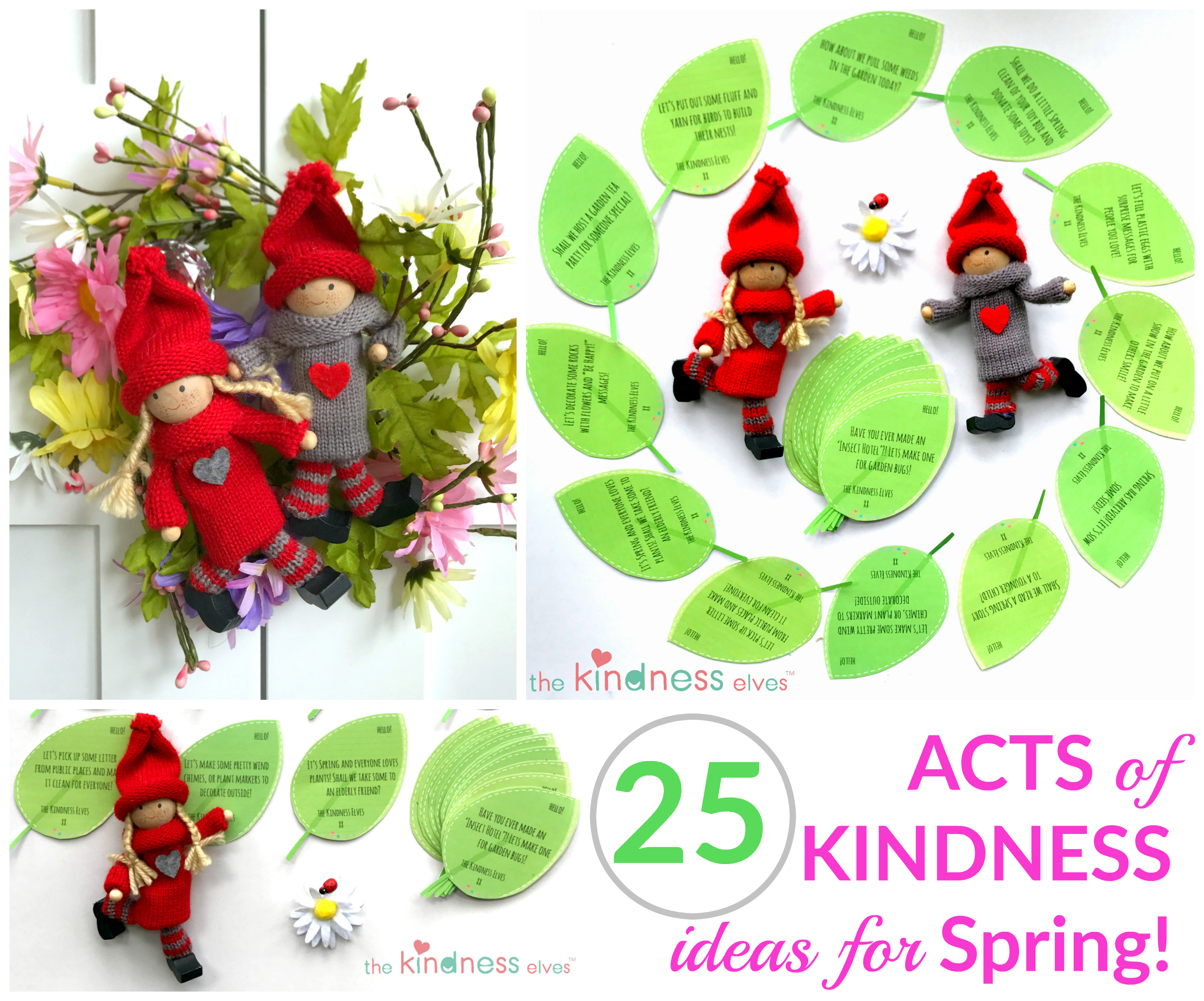 25 Spring Acts of Kindness Ideas for Kids - The ...