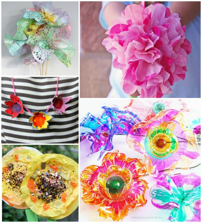 20 flower crafts for kids the imagination tree i hope youve been well and truly inspired by this gorgeous array of flower crafts for kids using such a wide variety of innovative art and craft and mightylinksfo Choice Image