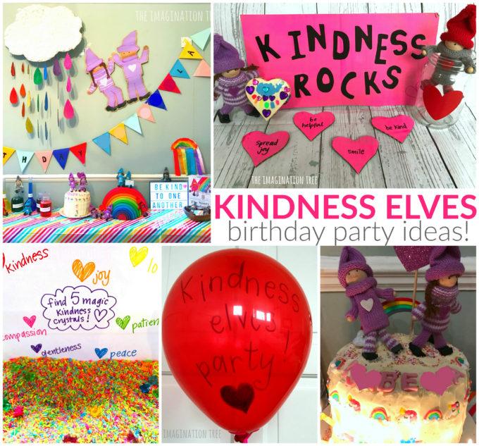 Kindness Elves Birthday Party Ideas!