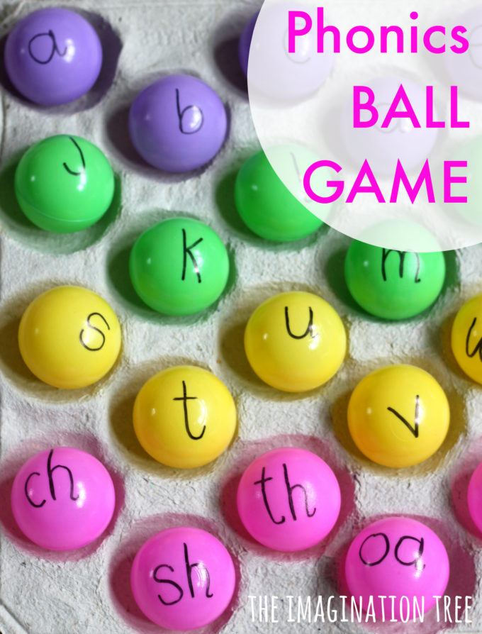 Phonics Ball Games for Kids!
