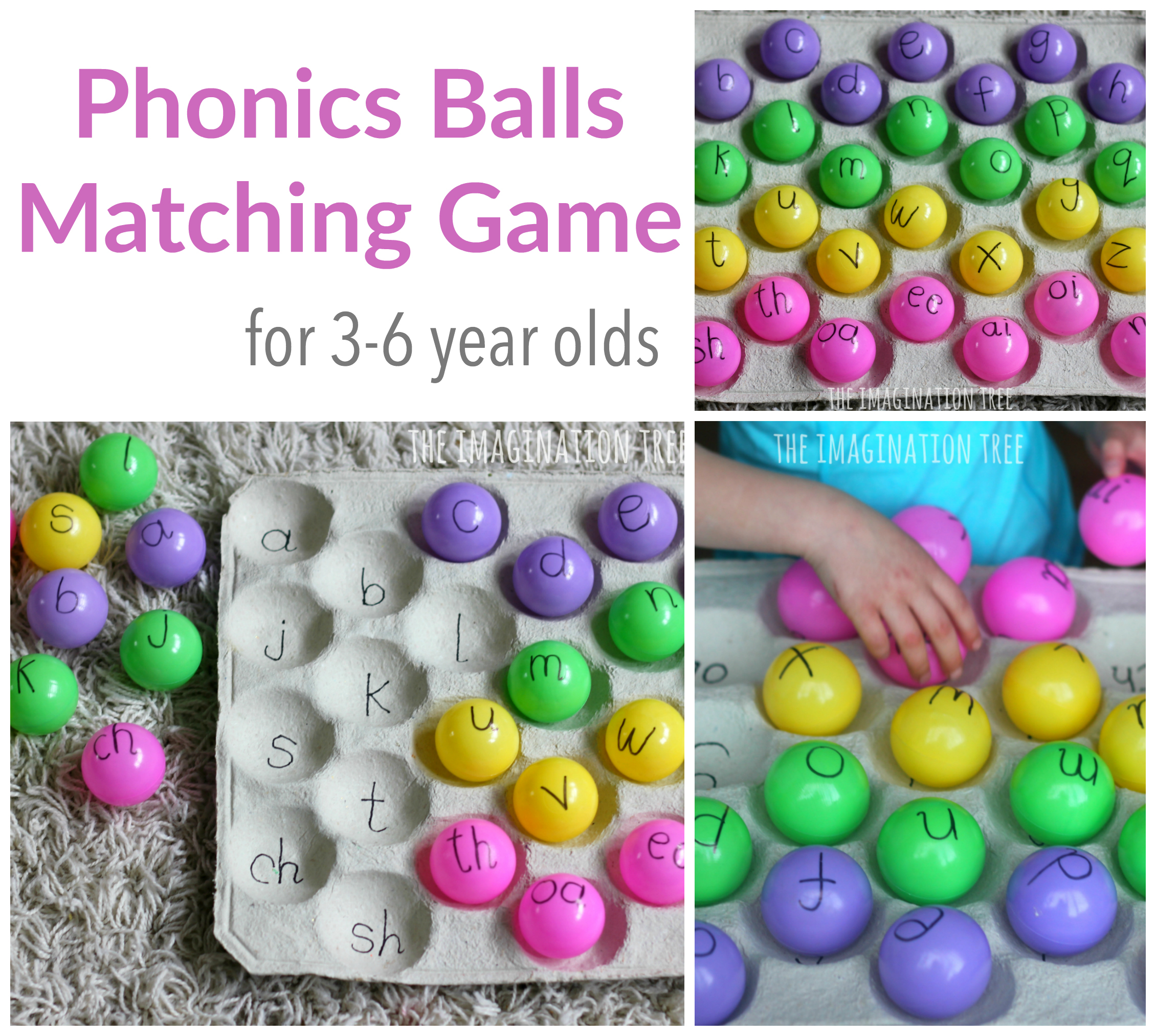 Phonics Ball Games - The Imagination Tree