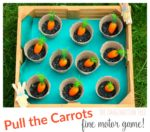 Eat the Carrots Fine Motor Skills Game