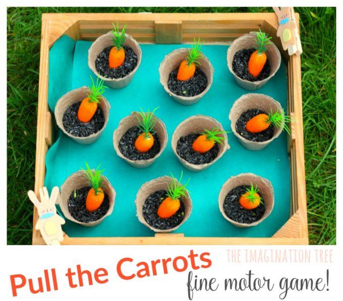 Eat the Carrots Fine Motor Skills Game