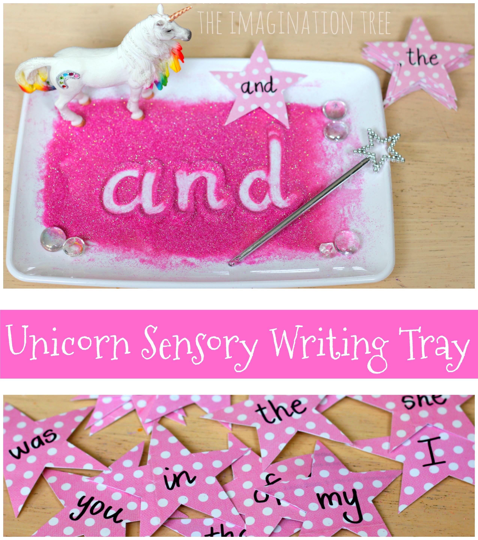 Star Wars Sensory Writing Tray - The Imagination Tree