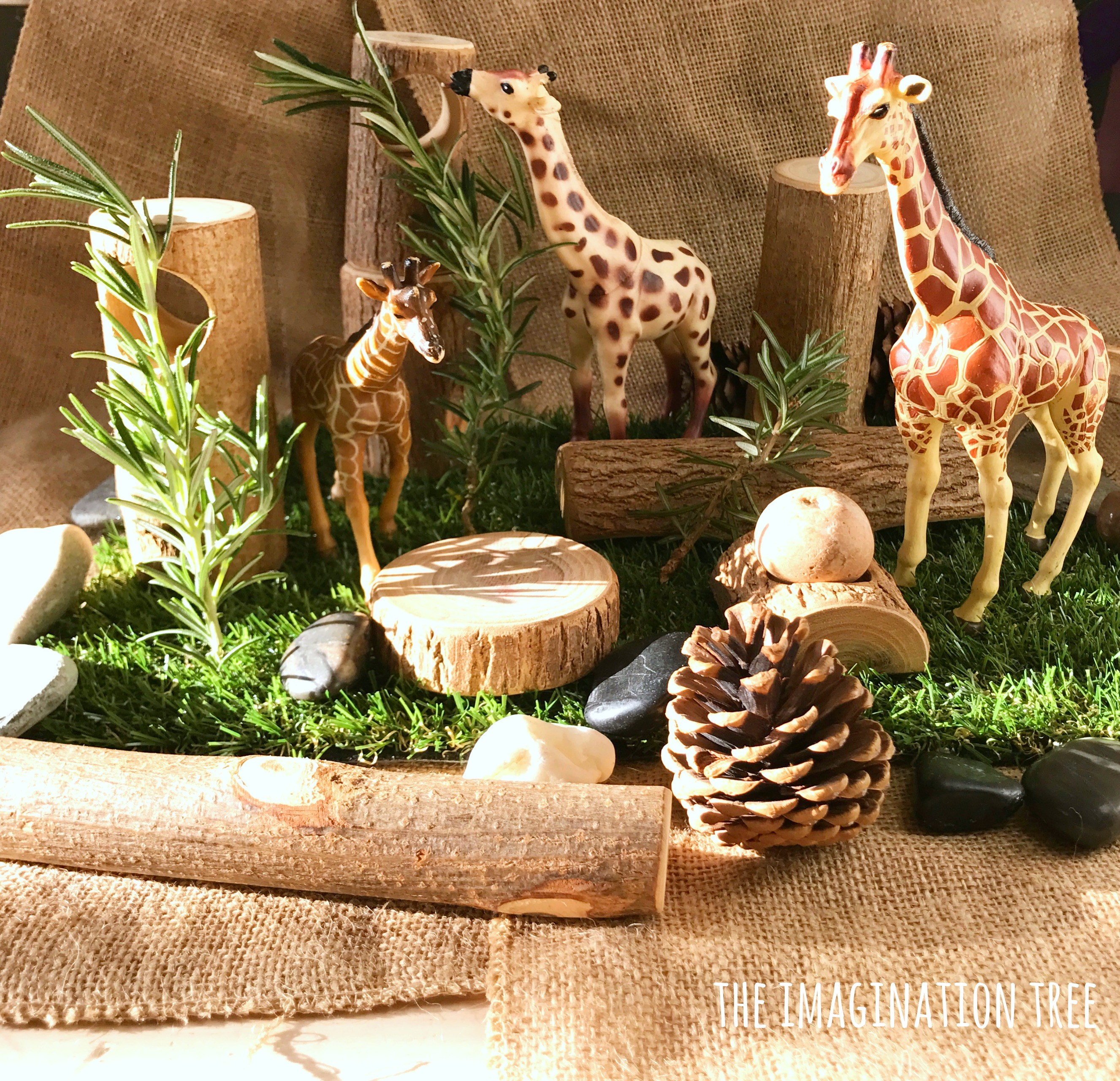 Natural Animal Small World Play The Imagination Tree