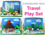 Cardboard Box Small World  Play