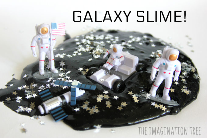 Space Galaxy Slime Recipe