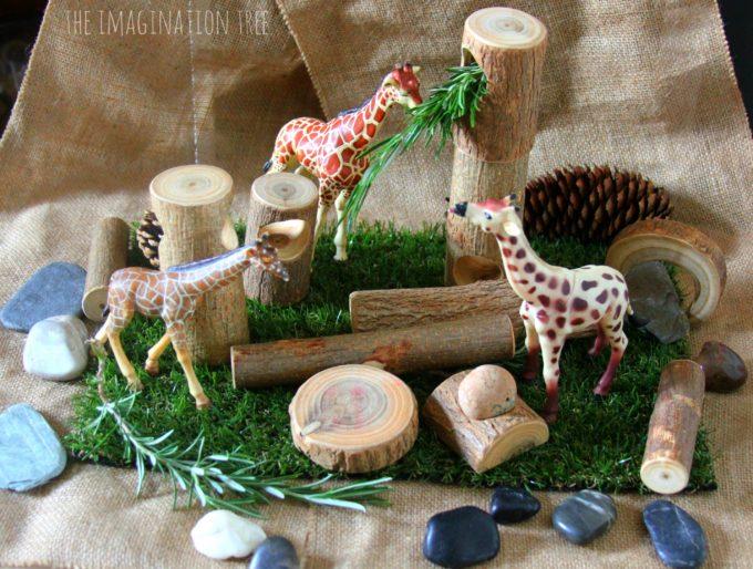 Natural Animal Small World Play The Imagination Tree