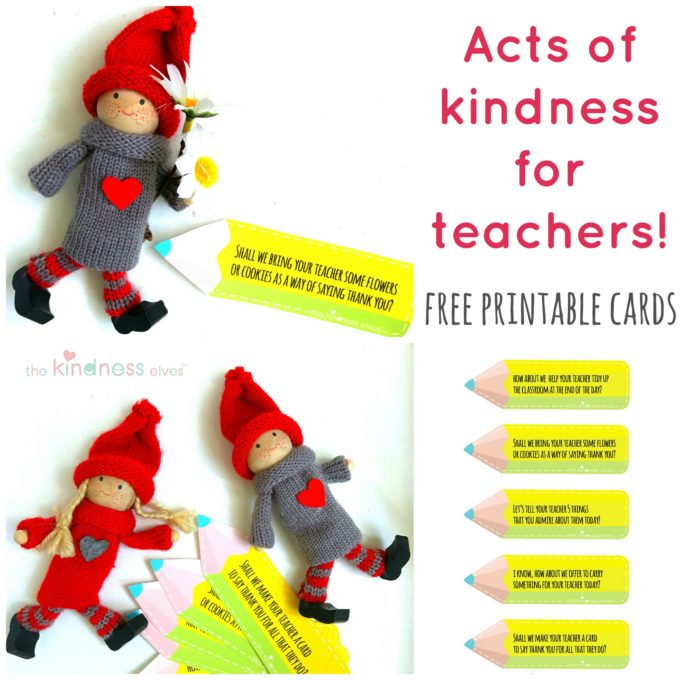 Acts of Kindness Ideas for Teachers