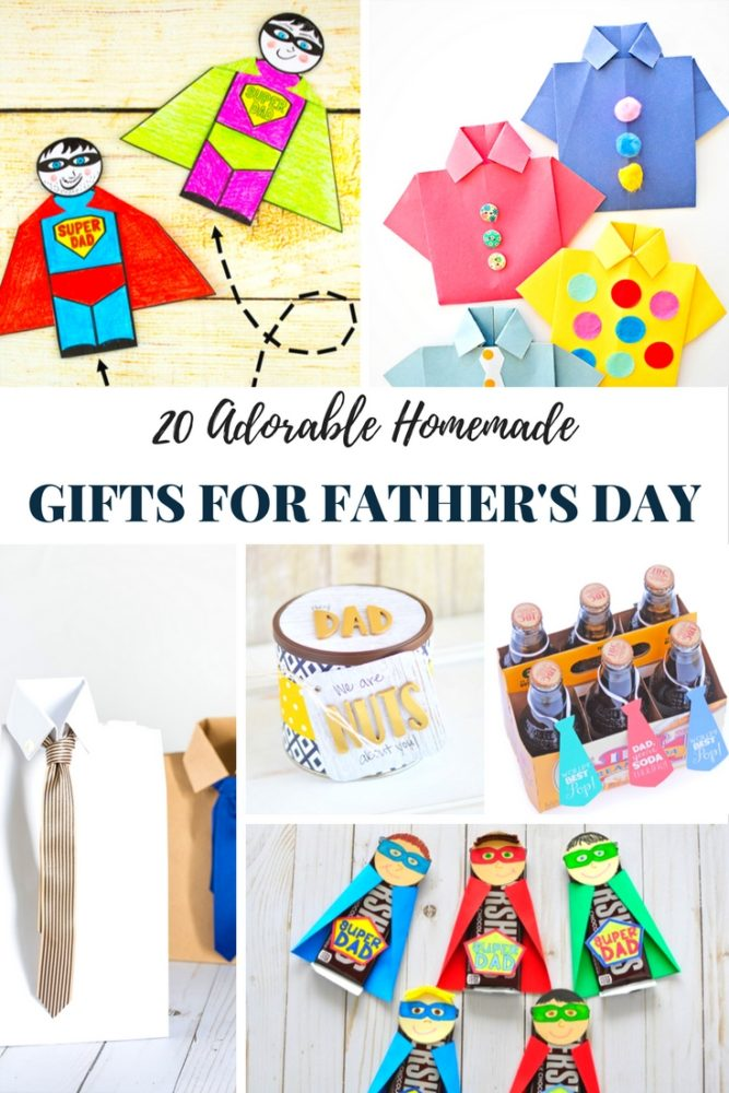 20 Homemade Gifts For Father S Day The Imagination Tree