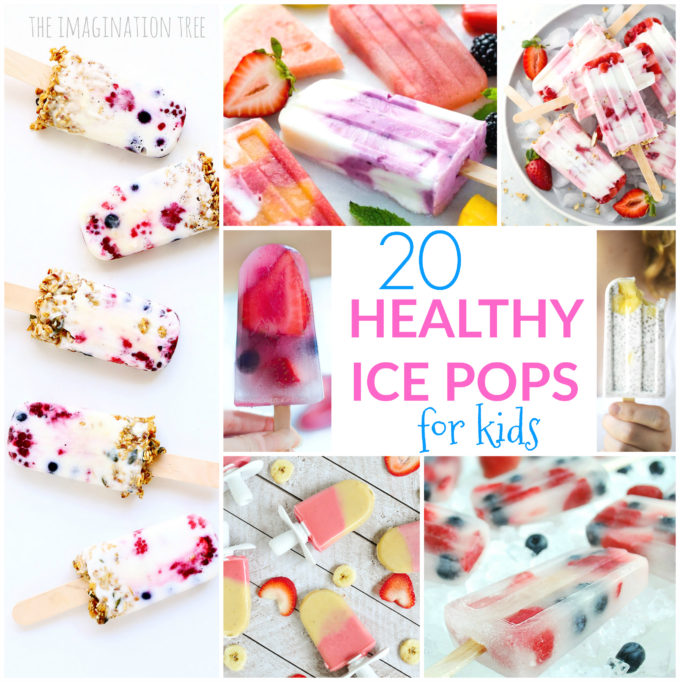20 Healthy Ice Pop Recipes for Kids!