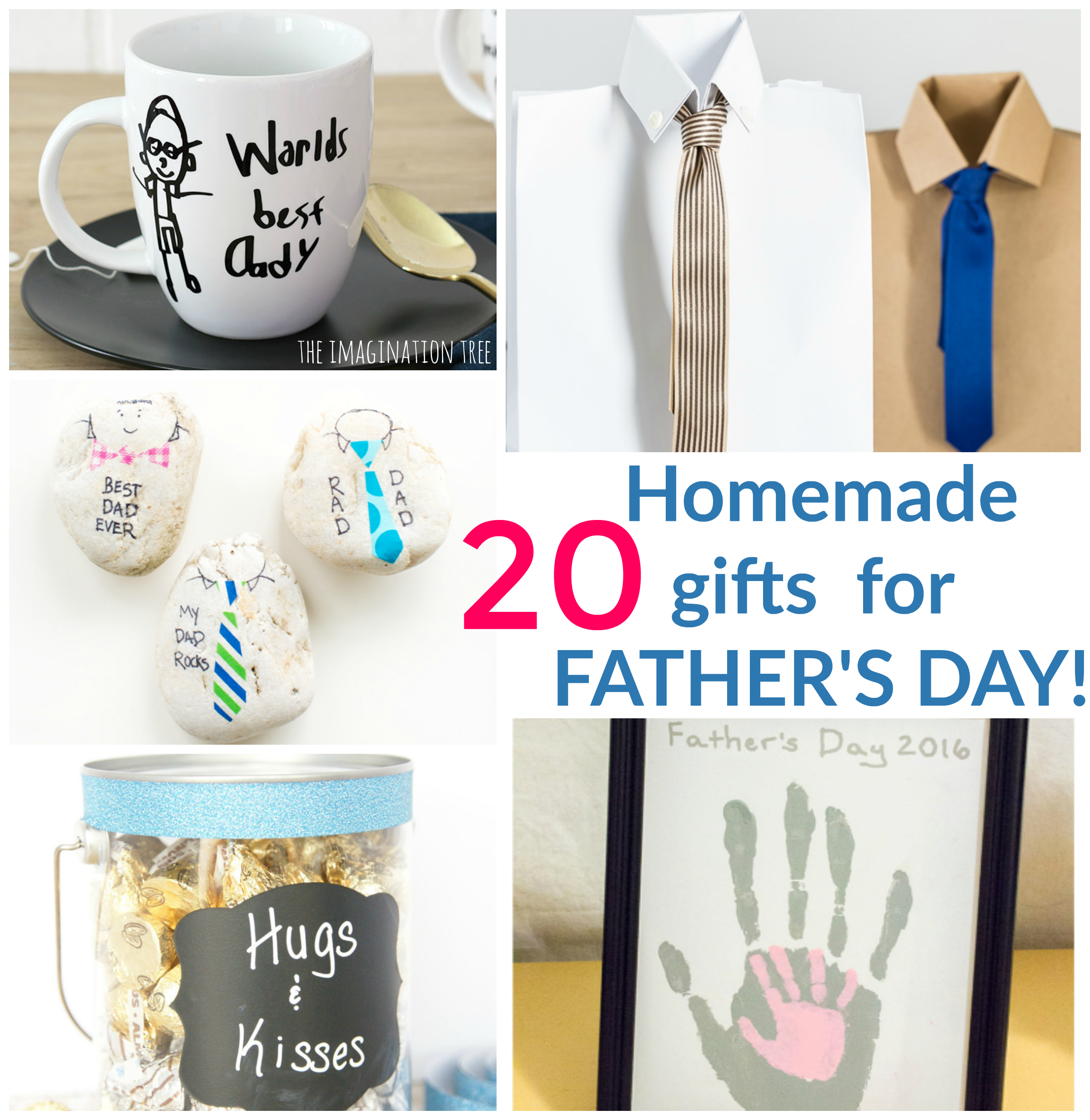 20 Homemade Gifts for Father\'s Day! - The Imagination Tree