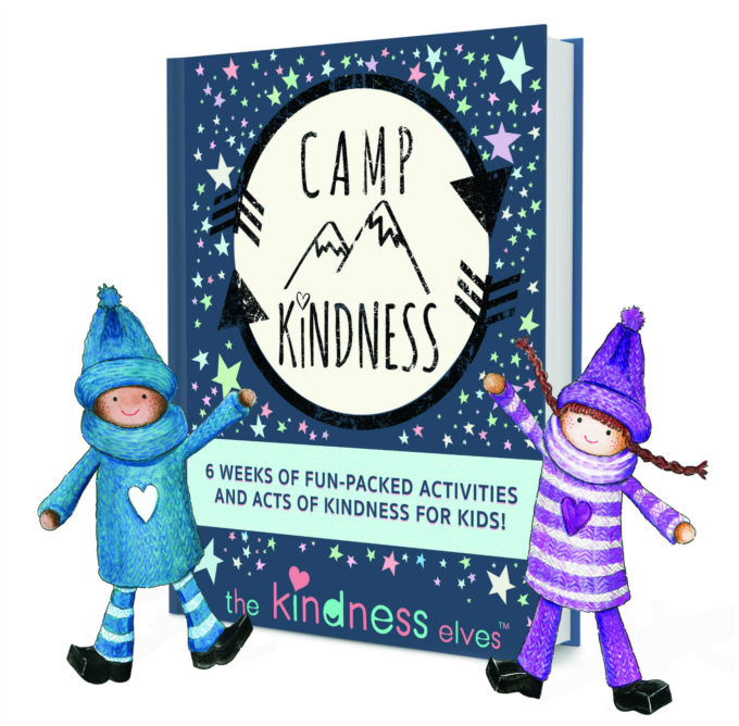 Camp Kindness- Summer Kindness Project for Kids with the Kindness Elves