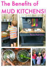 The Benefits of Mud Kitchens!